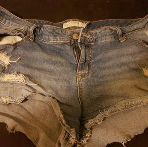 Torrid short shorts